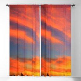 Tahiti South Pacific Sunset Blackout Curtain