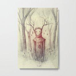 Forest Freak Metal Print