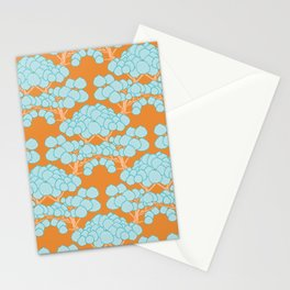 Cute Tree Vector Pattern Stationery Cards