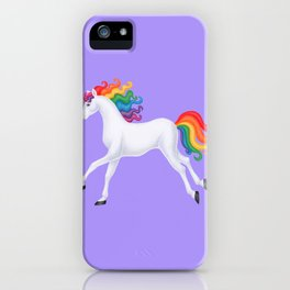 wanderlust (rainbow unicorn) iPhone Case
