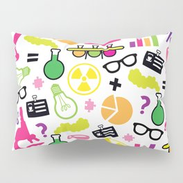 Neon Scientist Pillow Sham