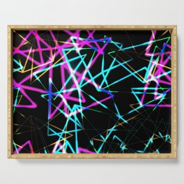 Neon lights Serving Tray