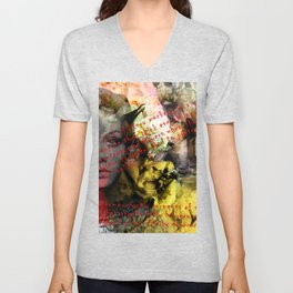 Edie ft. Twiggy Unisex V-Neck