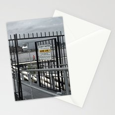 The Open Security Gate Stationery Cards