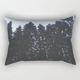 Cold Storm Rectangular Pillow