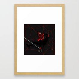 Ultimate Spider-man Miles Morales Framed Art Print