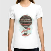 baloon T-shirts featuring have love, will travel by Laura Graves