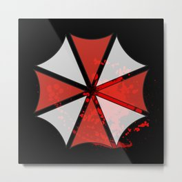Umbrella Corporation Metal Print