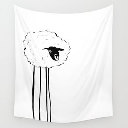 Creepy Sheep Wall Tapestry