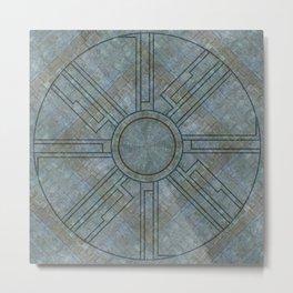 Ruin floor Metal Print