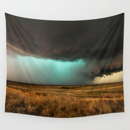 Jewel of the Plains - Storm in Texas Wall Tapestry