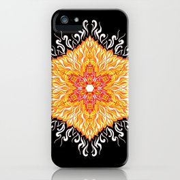 Cathedral of fire 2 iPhone Case
