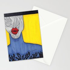 All About the Lips 9 Stationery Cards