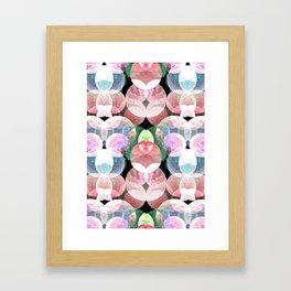 deepsea pattern  Framed Art Print