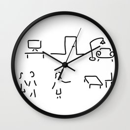 interior decorator Wall Clock