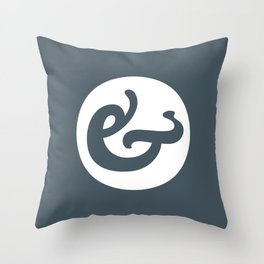 Ampersand Series - #1 Throw Pillow