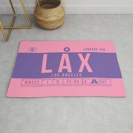 Baggage Tag B - LAX Los Angeles USA Rug