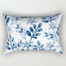 Watercolor Floral VIII Rectangular Pillow