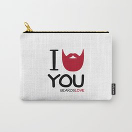 I BEARD YOU Carry-All Pouch