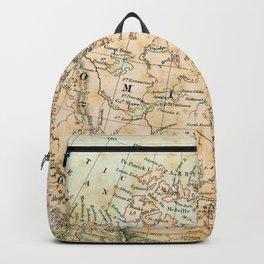 North America Vintage Map Backpack