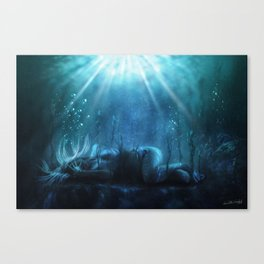 The Lake of Souls Canvas Print