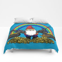 Gnome Guns Comforters