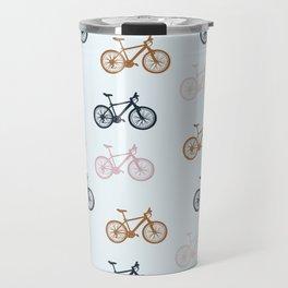 Bike pattern Travel Mug