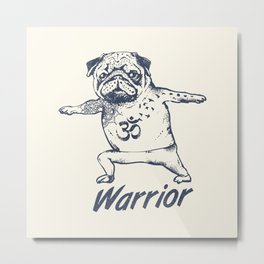 Be a Warrior Metal Print