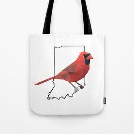 Indiana – Northern Cardinal Tote Bag
