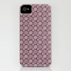 pattern (pale pink#2) iPhone (4, 4s) Slim Case