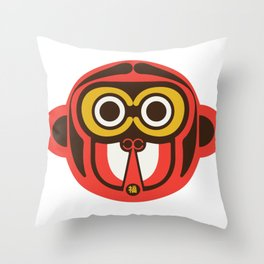 Journey to the west monkey Throw Pillow