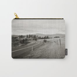 {  on the road } Carry-All Pouch
