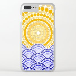 LIGHT OF DAWN (abstract tropical) Clear iPhone Case