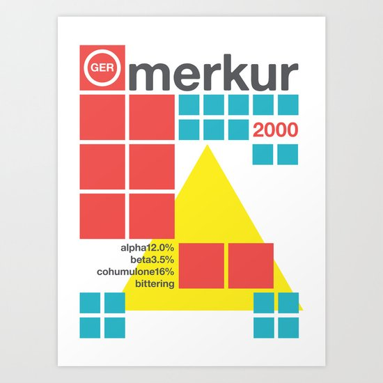 merkur single hop Art Print