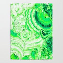 Malachite Green Poster