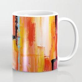 Abstract Orange 2 Coffee Mug