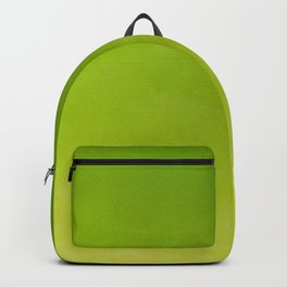 Color gradient – green and yellow Backpack
