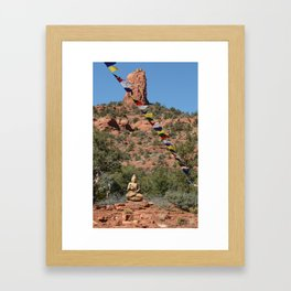 Buddha Statue Framed Art Print