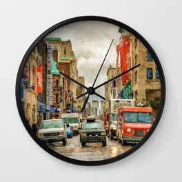 On Your Mark Wall Clock