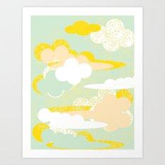 70's Sky Art Print