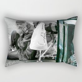 Dark Times in a Colorful World Rectangular Pillow