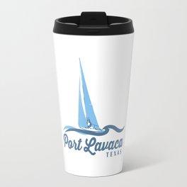 Port Lavaca Texas. Travel Mug