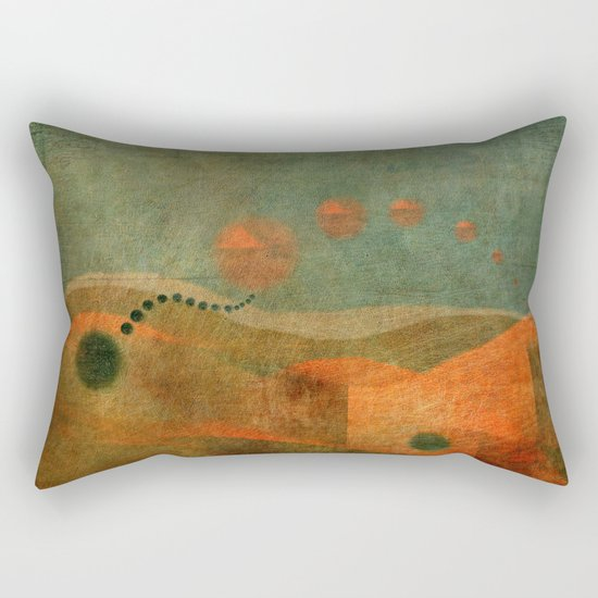 Letters from the Past... Rectangular Pillow