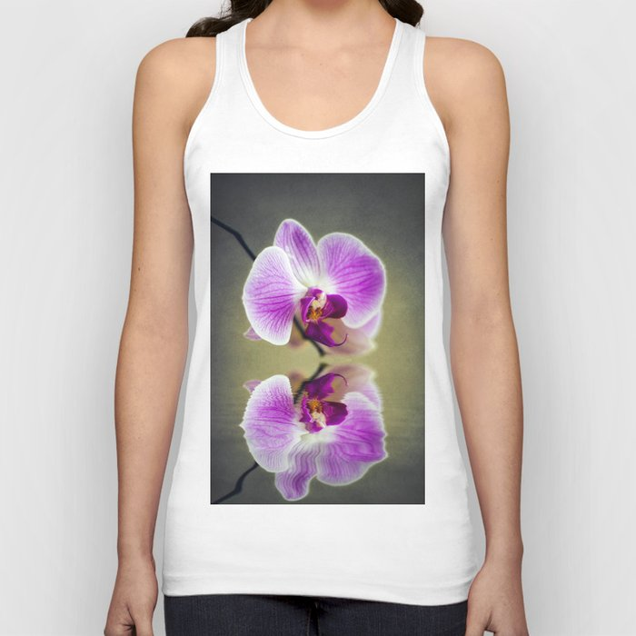 Orchid Reflections Unisex Tank Top