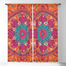 Colorful Mandala Pattern 017 Blackout Curtain