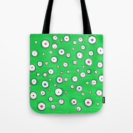 All Eyes on You - Green Tote Bag