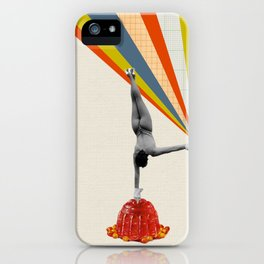 On one hand iPhone Case