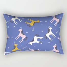 Super unicorn sparkles Rectangular Pillow