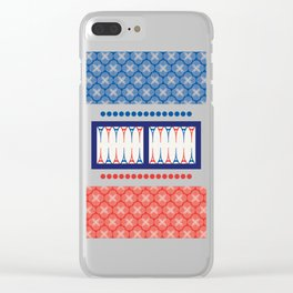 Backgammon – it's a GAME Clear iPhone Case