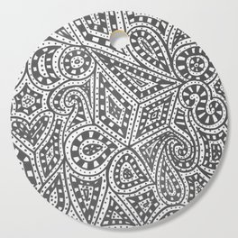 Doodle 9 Cutting Board